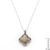 Antique Cobblestone Two-tone Finish Pendant