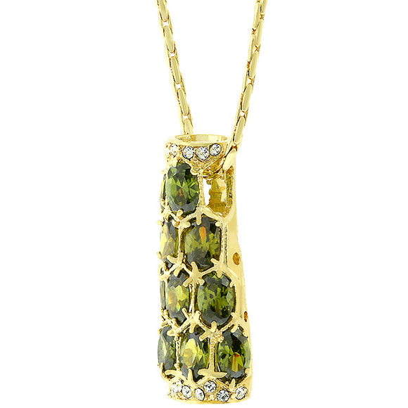 Amazon Green Pendant