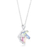 Myra Necklace 10ct Multicolor Rhodium Necklace