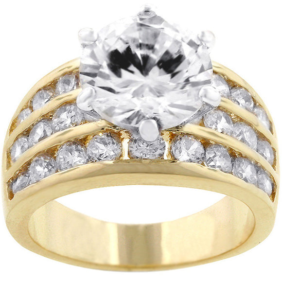 Classic Gold Engagement Ring
