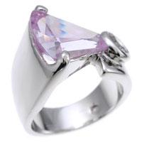 Lavender Cubic Zirconia Fashion Ring