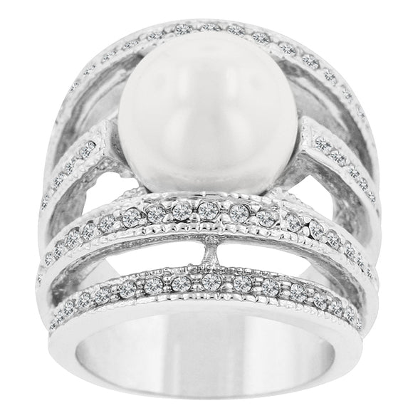 Right-Hand Pearl Ring