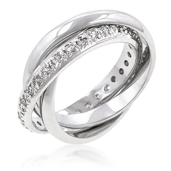 Intertwined Eternity Bands