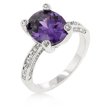 Purple Anniversary Ring