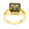 Olive Green Gypsy Ring