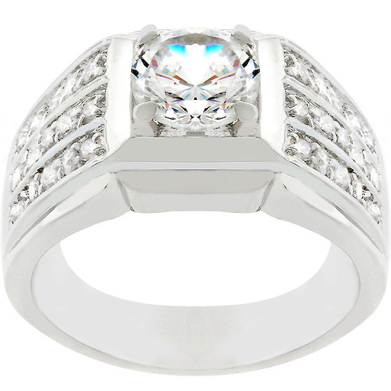 Rock Solid Cubic Zirconia Ring