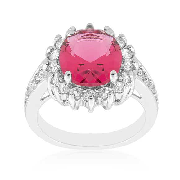 Red Cambridge Elegance Ring