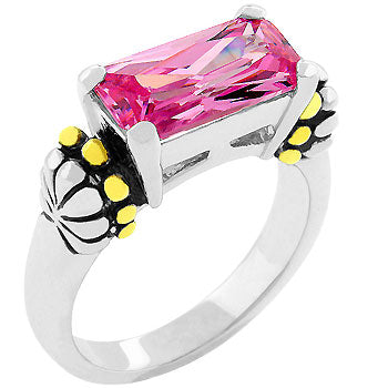 Pink Ice Antique Ring