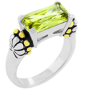 Peridot Antique Ring