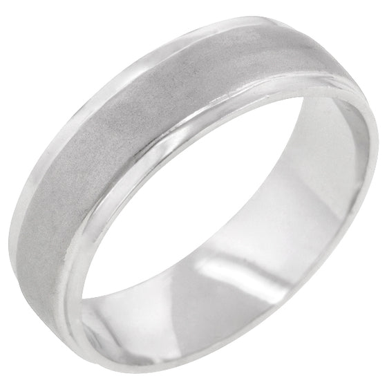 Classic Matte 6 MM Wedding Band