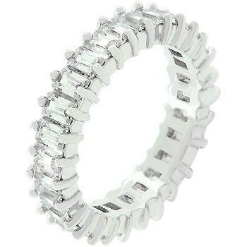 Classic Baguette Eternity Ring