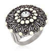 Antique Silver Crest Ring II