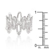 Cubic Zirconia Oval Fashion Ring