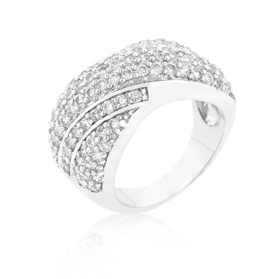 Pave Overlap Diagonal Ring