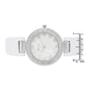 Crystal Watch - White