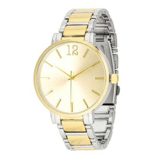 Two Tone Metal Watch