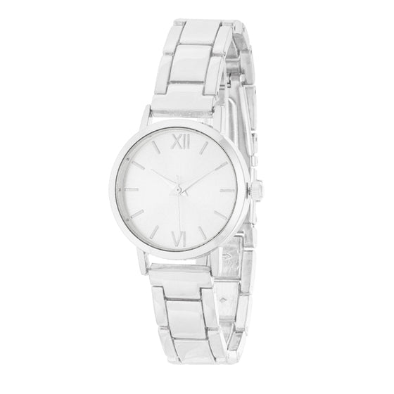 Kristiana Silver Ladylike Metal Watch