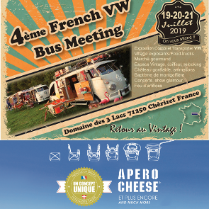 Participation au 4ème French VW Bus Meeting