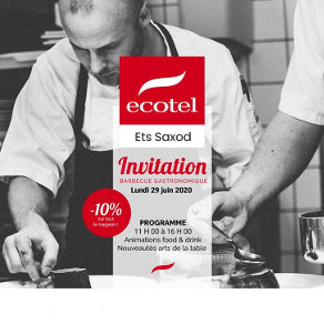 Invitation au barbecue - ECOTEL ANNECY (Ets SAXOD)