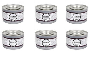 Lot de 6 pots de gel