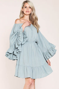 Elizabeth Bell Sleeve Dress