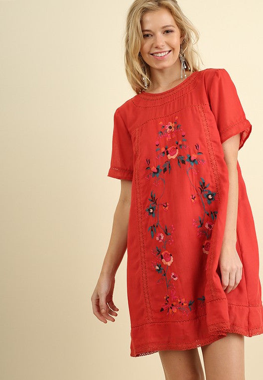 Salsa Embroidered Dress