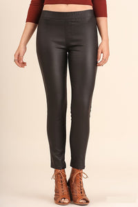 Bella Faux Leather Jeggings