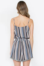 Stella Striped Romper