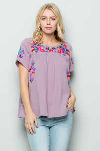Fiesta Embroidered Blouse