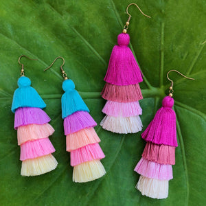 Tulum Tassel Earrings