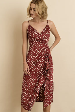 Maxime Polka Dot Dress