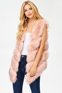 Allie Faux Fur Vest