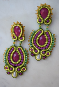 Angelica Statment Earrings