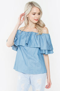 Tula Denim Blouse