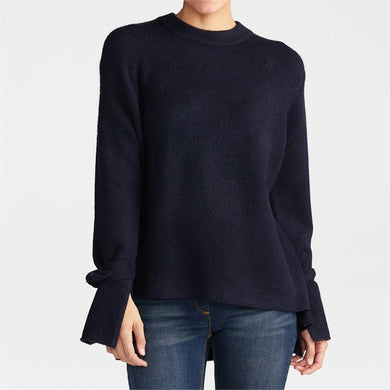 Tie Sleeve Pullover