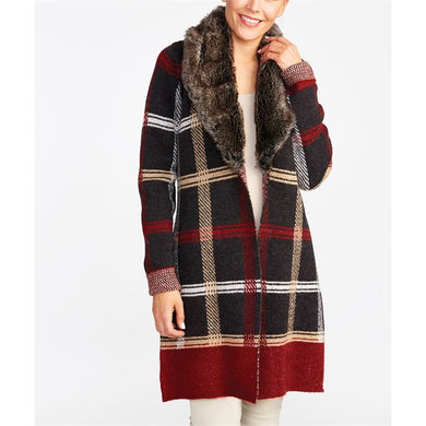 Harper Faux Fur Sweater