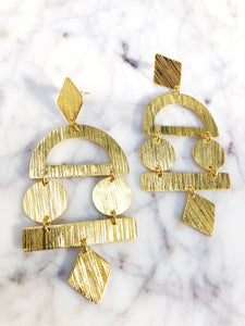Vera Geometric Earrings