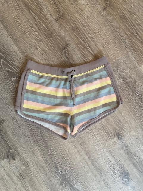 Z Supply soft cotton pastel striped lounge shorts