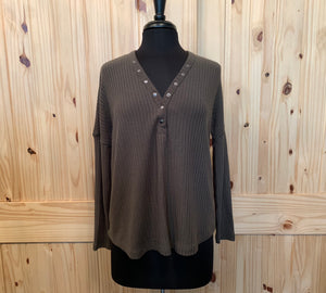 BB DAKOTA/JACK - Olive Henley Thermal