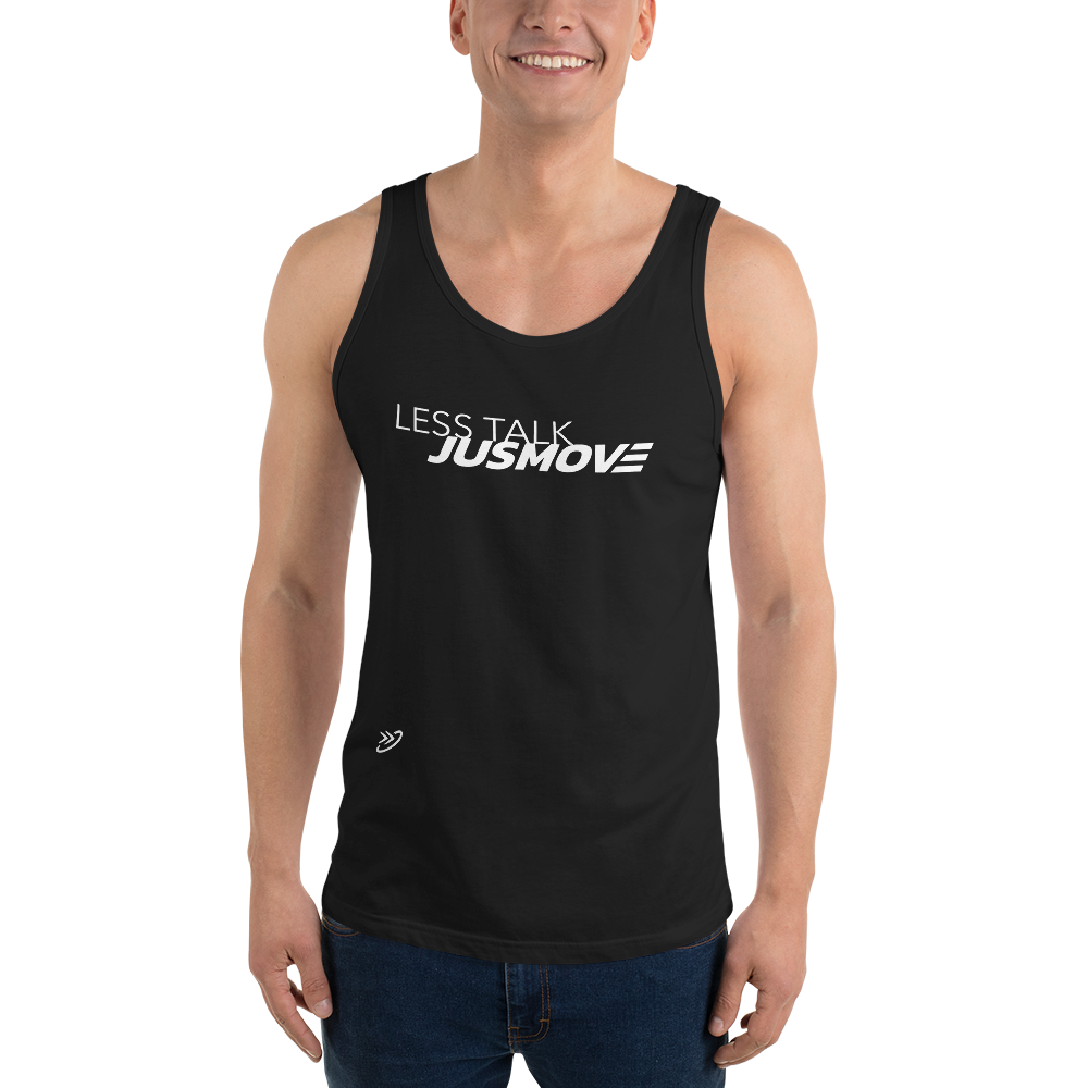 Less Talk JM - Unisex  Tank Top