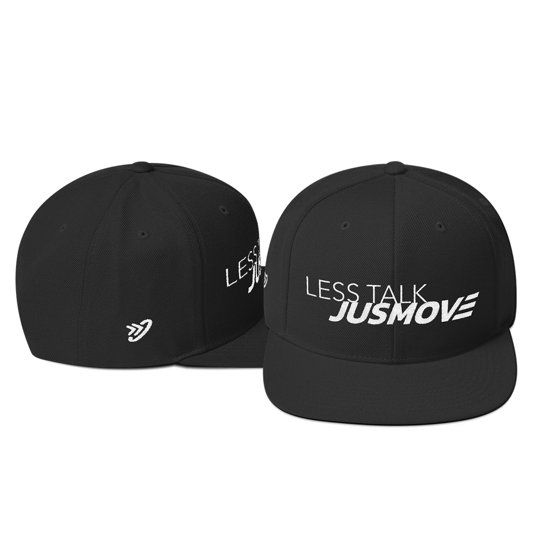 Less Talk JM - Snapback Hat