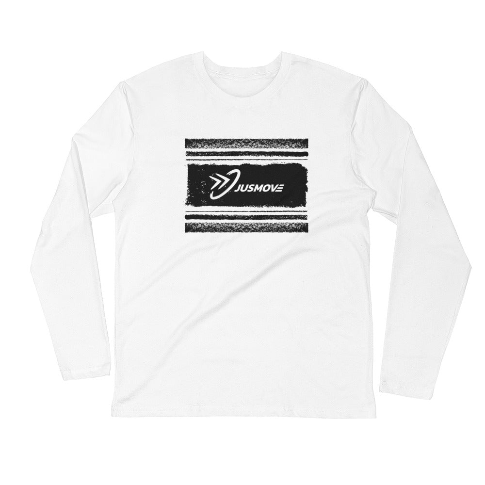 JM Streak - Long Sleeve Fitted Crew