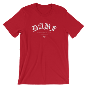 Dance And Be Free (DABF) Short-Sleeve Unisex T-Shirt
