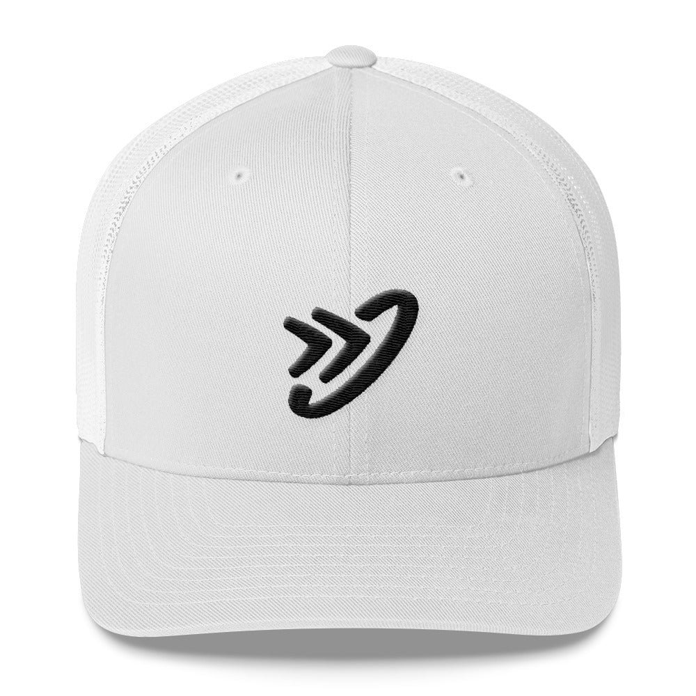JM Logo (Black) - Trucker Cap