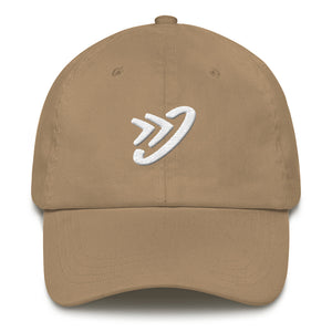 JM Logo (White) - Dad hat