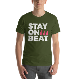 Stay On Beat - Short-Sleeve Unisex T-Shirt