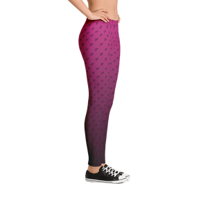 Pink Fade - WomensLeggings