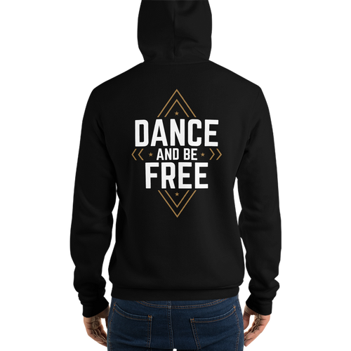 DABF (white font) - 3 Colors - Unisex hoodie
