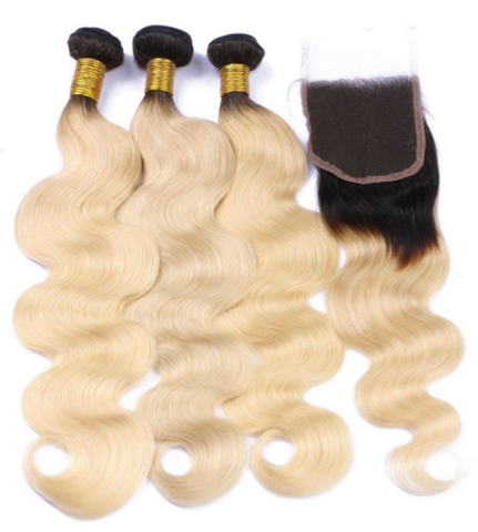 Bleach Blondie Body Wave