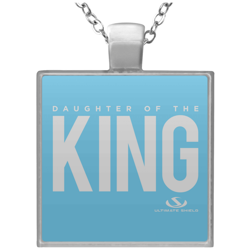 DAUGHTER OF THE KING Square Necklace